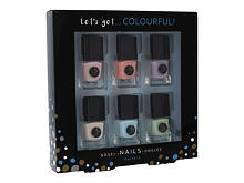Lak za nokte 2K Let´s Get Colourful! Pastels 5 ml Poklon setovi