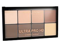 Puder Makeup Revolution London Ultra Pro HD Cream Contour Palette 20 g Light Medium