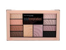 Sjenilo za oči Maybelline Total Temptation Shadow + Highlight 12 g
