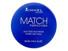 Puder u prahu Rimmel London Match Perfection 10 g 001 Transparent