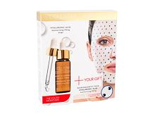 Serum za lice Collistar Pure Actives Hyaluronic Acid Serum + Hyaluronic Acid Mask 30 ml Poklon setovi