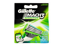 Britvice Gillette Mach3 Sensitive 4 kom