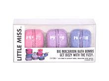 Pjenasta kupka Little Miss Little Miss  Big Macroon Bath Bombs 360 g