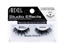Umjetne trepavice Ardell Studio Effects Wispies 1 kom Black