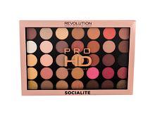Sjenilo za oči Makeup Revolution London Pro HD Palette Amplified 35 29,995 g Socialite