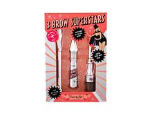Gel za obrve i pomada Benefit Gimme Brow+ 3 Brow Superstars 3 g 3 Warm Light Brown Poklon setovi