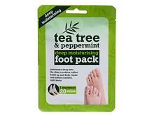 Krema za stopala Xpel Tea Tree Tea Tree & Peppermint Deep Moisturising Foot Pack 1 kom