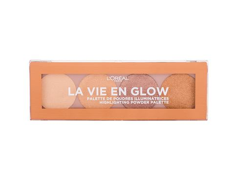Highlighter L´Oréal Paris Wake Up & Glow La Vie En Glow 5 g 001 Warm Glow