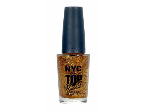 Lak za nokte NYC New York Color Top of the Gold 9,7 ml 010 Top of the Gold