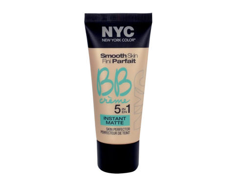 BB krema NYC New York Color Smooth Skin Fini Parfait 5in1 Instant Matte 30 ml 01 Light