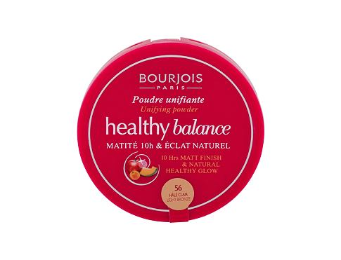 Puder u prahu BOURJOIS Paris Healthy Balance 9 g 56 Light Bronze