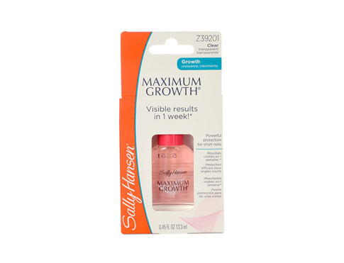 Njega noktiju Sally Hansen Maximum Growth Nail Treatment 13,3 ml oštećena kutija