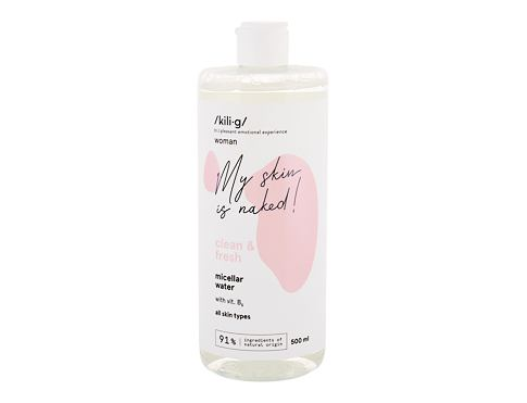 Micelarna voda kili·g woman clean & fresh 500 ml