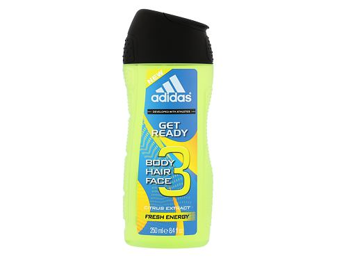 Gel za tuširanje Adidas Get Ready! For Him 2in1 250 ml