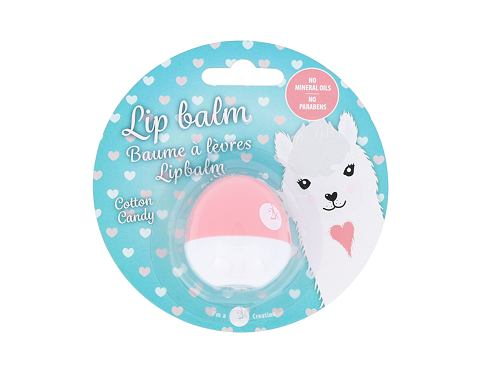 Balzam za usne 2K Animal Lip Balm Lama 11 g Cotton Candy