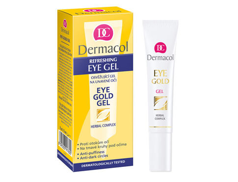 Gel za područje oko očiju Dermacol Eye Gold 15 ml