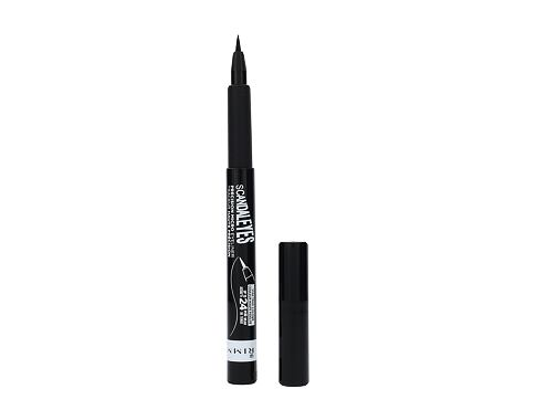 Tuš za oči Rimmel London Scandal Eyes Precision Micro 1,1 ml 001 Black