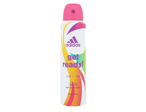 Antiperspirant Adidas Get Ready! For Her 48h 150 ml