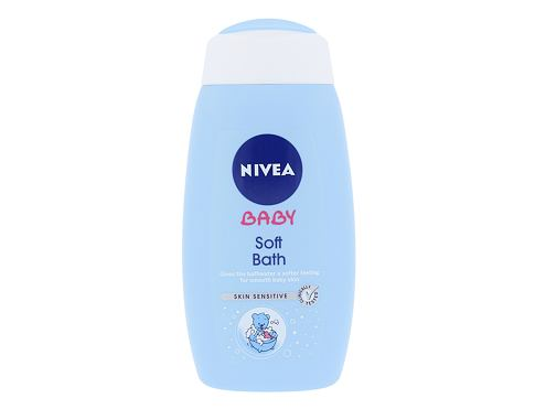 Pjenasta kupka Nivea Baby Soft Bath 500 ml