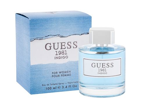 Toaletna voda GUESS Guess 1981 Indigo For Women 100 ml