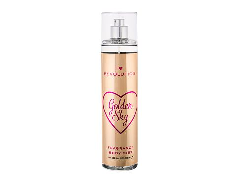 Sprej za tijelo Makeup Revolution London I Heart Revolution Golden Sky 236 ml