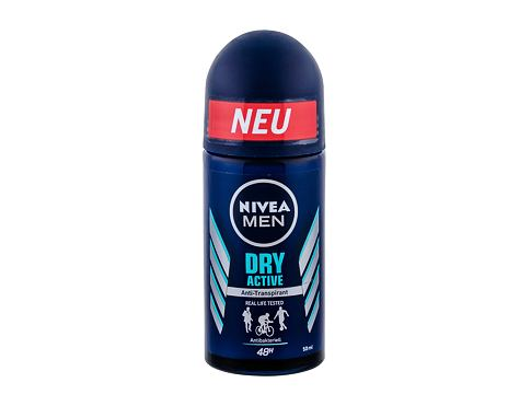 Antiperspirant Nivea Men Dry Active 48h 50 ml