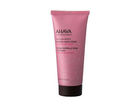 Krema za ruke AHAVA Deadsea Water Mineral Hand Cream Cactus & Pink Pepper 100 ml