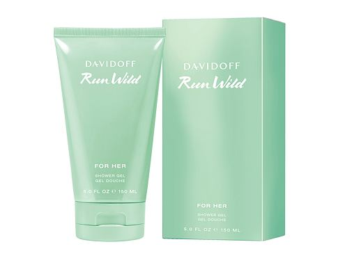Gel za tuširanje Davidoff Run Wild 150 ml