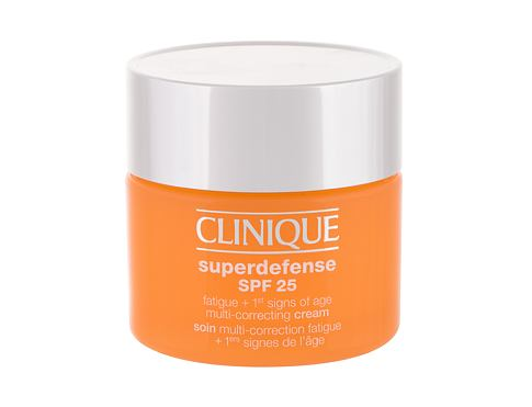 Dnevna krema za lice Clinique Superdefense Multi-Correcting SPF25 50 ml Testeri