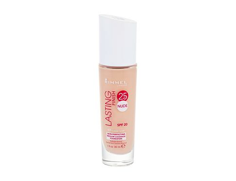 Puder Rimmel London Lasting Finish 25hr Nude SPF20 30 ml 101 Classic Ivory