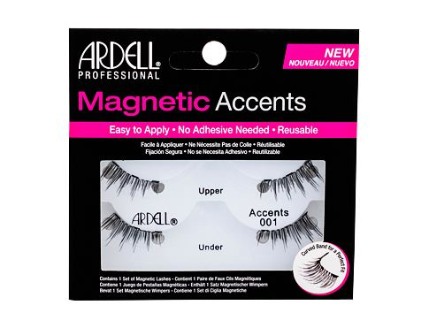 Umjetne trepavice Ardell Magnetic Accents Accents 001 1 kom Black