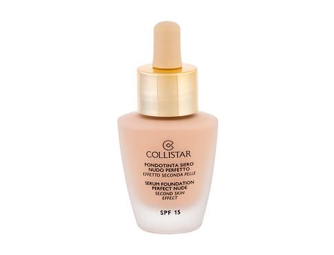 Tekući puder Collistar Serum Foundation Perfect Nude SPF15 30 ml 0 Cameo