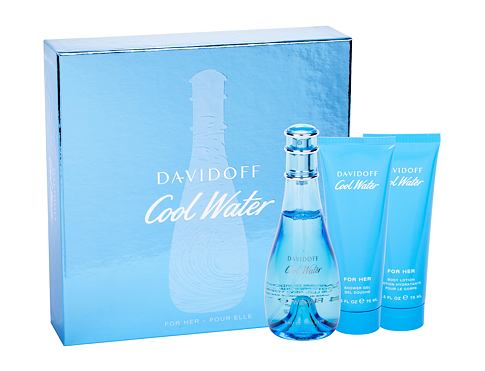 Toaletna voda Davidoff Cool Water Woman 100 ml Poklon setovi
