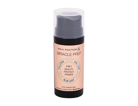 Podloga za make-up Max Factor Miracle Prep 3 in 1 Beauty Protect SPF30 30 ml