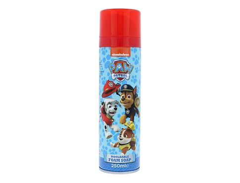 Pjena za tuširanje Nickelodeon Paw Patrol Mouldable Foam Soap 250 ml