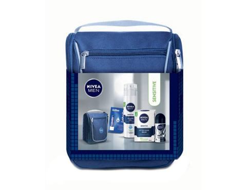 Gel za brijanje Nivea Men Sensitive 200 ml Poklon setovi