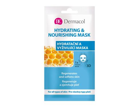 Maska za lice Dermacol Hydrating & Nourishing Mask 15 ml
