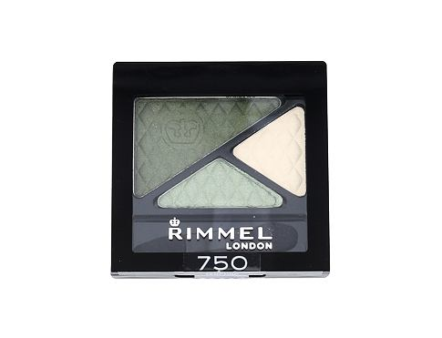 Sjenilo za oči Rimmel London Glam Eyes Trio 4,2 g 750 Tempting