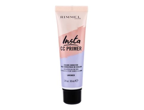Podloga za make-up Rimmel London Insta CC Primer 30 ml Lavender