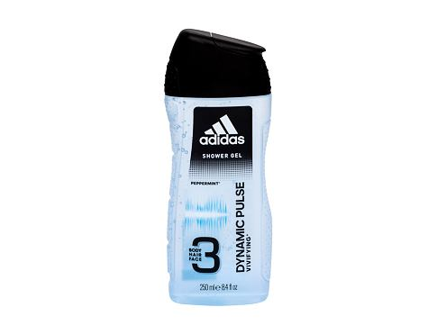 Gel za tuširanje Adidas Dynamic Pulse 3in1 250 ml