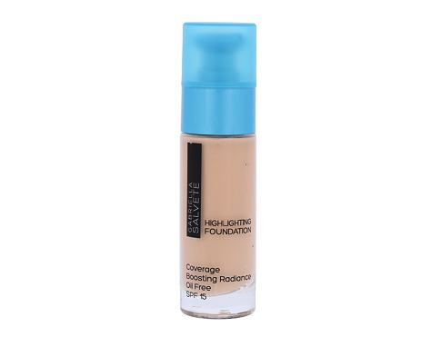 Tekući puder Gabriella Salvete Highlighting Foundation SPF15 30 ml 102 Soft Beige