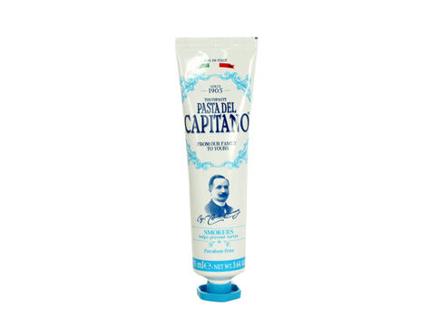 Zubna pasta Pasta Del Capitano Smokers Toothpaste 75 ml