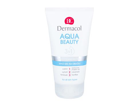 Gel za čišćenje lica Dermacol Aqua Beauty 150 ml