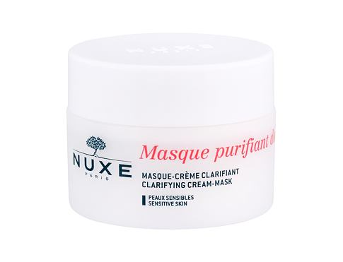 Maska za lice NUXE Rose Petals Cleanser Clarifying Cream-Mask 50 ml