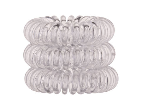 Gumice za kosu Invisibobble The Traceless Hair Ring 3 kom Crystal Clear