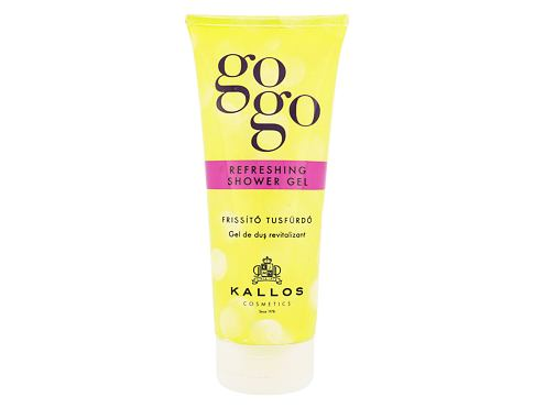 Gel za tuširanje Kallos Cosmetics Gogo Refreshing 200 ml
