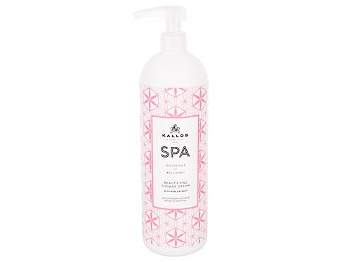 Krema za tuširanje Kallos Cosmetics SPA Beautifying 1000 ml