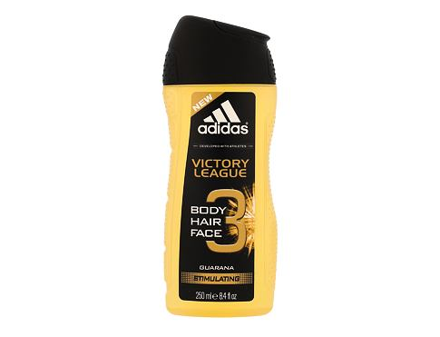 Gel za tuširanje Adidas Victory League 3in1 250 ml