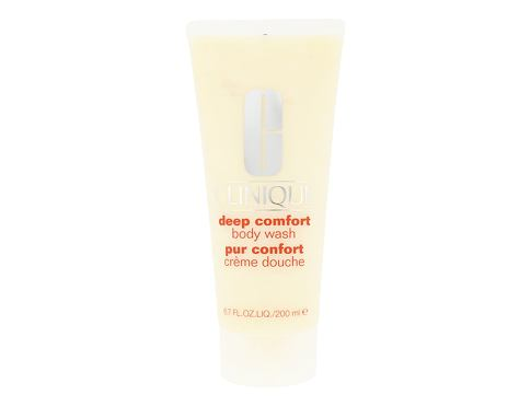 Krema za tuširanje Clinique Deep Comfort 200 ml