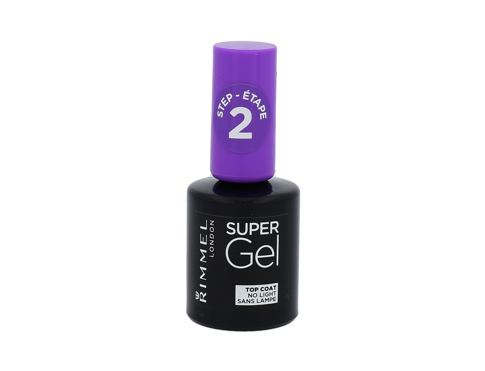 Lak za nokte Rimmel London Super Gel Top Coat 12 ml